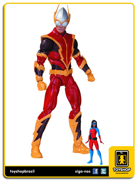 The New 52: Johnny Quick with Atomica - Dc Collectibles