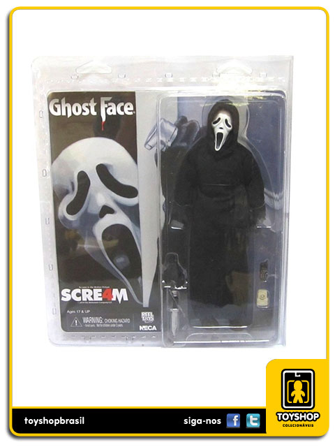 Scream Ghostface 8´ Retro  Neca
