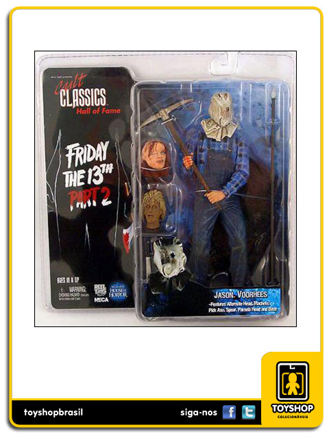 Cult Classics Friday 13th Part II: Jason Voorhees- Neca