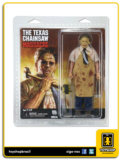 The Texas Chain Saw Massacre Leatherface 8´ Retro  Neca