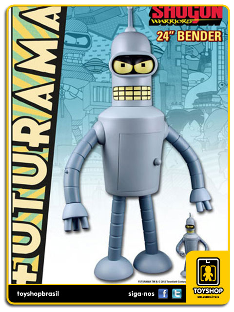 Futurama: Bender Shogun Warriors 60 cm - Toynami