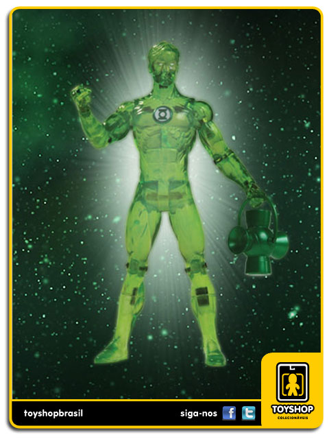 Green Lantern: Hal Jordan Power Power Glow - Dc Collectibles