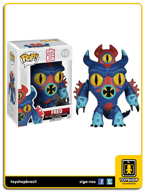 Big Hero 6: Fred Pop - Funko