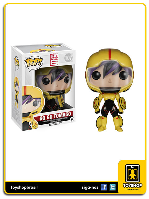 Big Hero 6: Go Go Tomago Pop - Funko