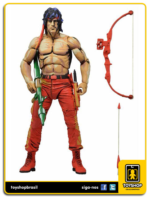 Rambo: Rambo Classic Video Game - Neca