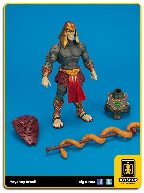 Motu Classics: Snake Armor He-Man & Battle Armor King Hssss - Mattel