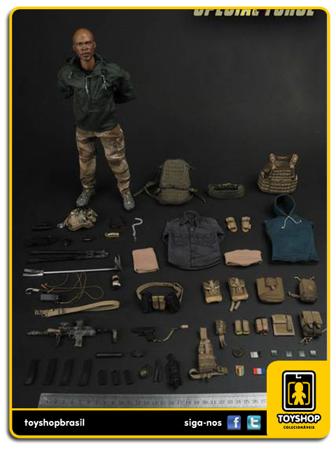 Figura de Ação: French Special Force 1/6 - Soldier Story