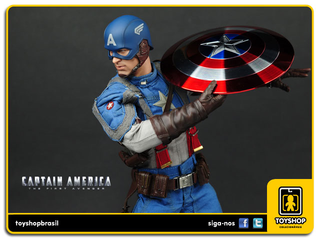 Captain America: The First Avenger - Hot Toys
