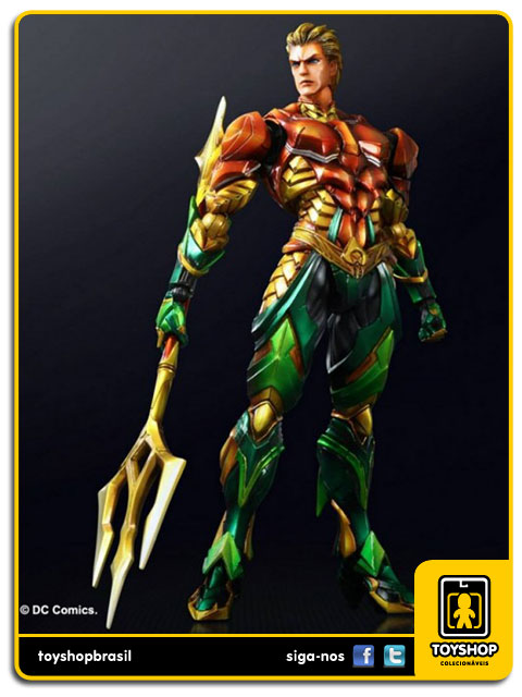 Play Arts DC Comics: Aquaman Variant - Square Enix