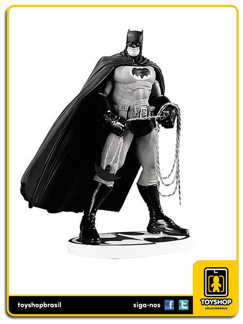 Black and White: Estátua Batman Frank Miller - DC Collectibles