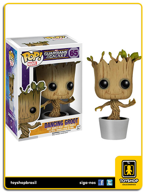 Guardians of the Galaxy Dancing Groot Pop Funko