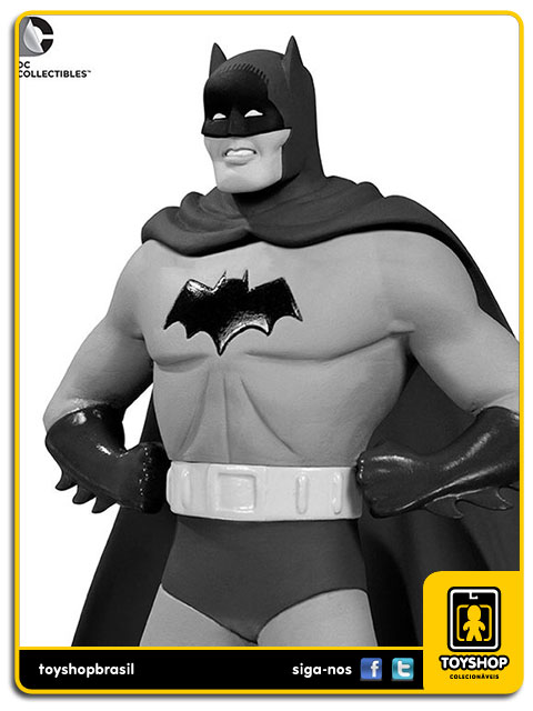 Black and White: Estátua Batman Dick Sprang - DC Collectibles