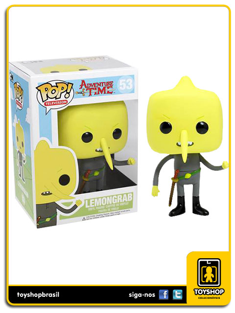 Adventure Time: Lemongrab Pop - Funko