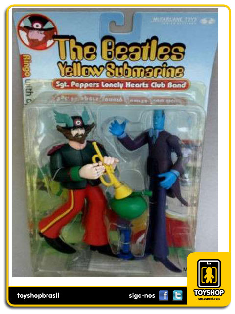 The Beatles Yellow Submarine: Ringo with Apple Bonker - Mcfarlane