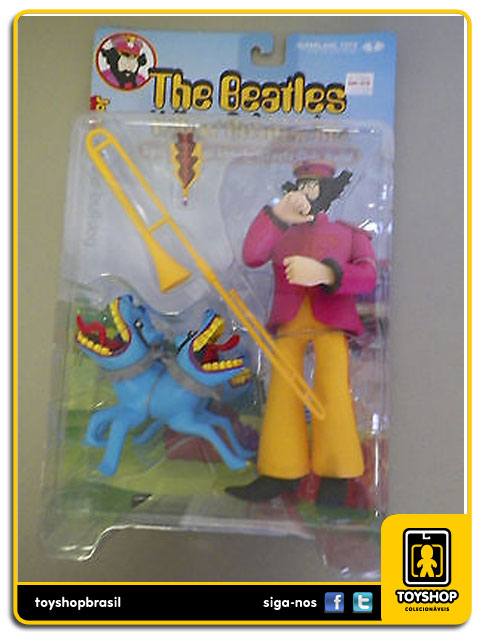 The Beatles Yellow Submarine: John with the BullDog - Mcfarlane
