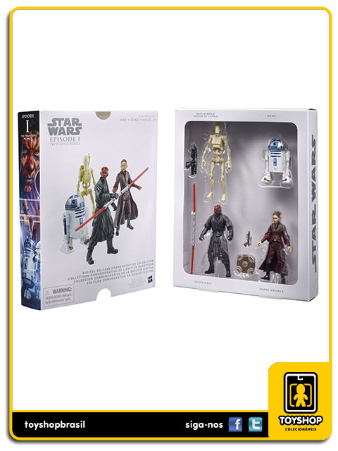 Star Wars Digital Collection: The Phantom Menace - Hasbro