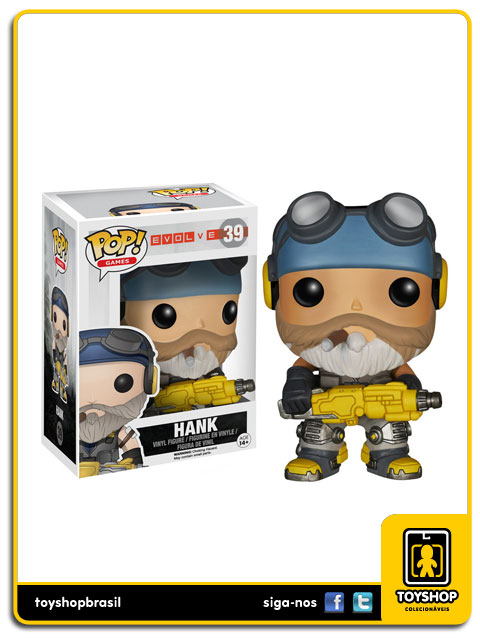 Evolve: Hank Pop - Funko