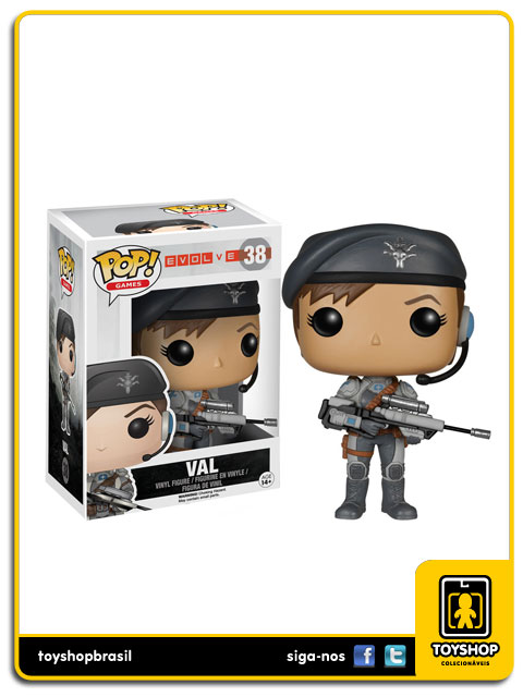 Evolve: Val Pop - Funko