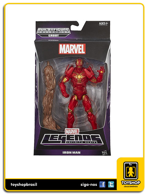 Marvel Legends Infinite: Iron Man - Hasbro