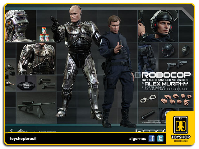 RoboCop: RoboCop Battle Damaged - Hot Toys