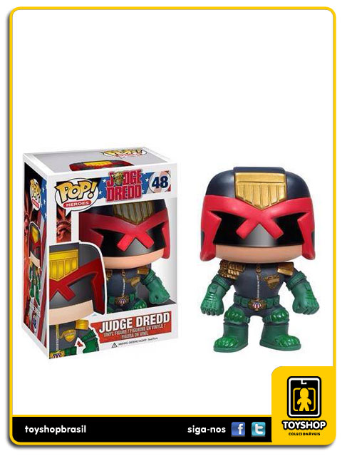 O Juiz: Judge Dredd Pop - Funko