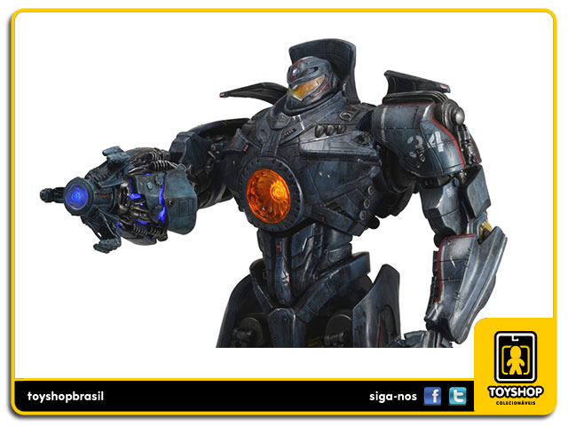 Pacific Rim: Battle Damaged Jaeger Gipsy Danger 45 cm - Neca