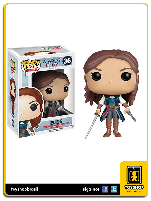 Assassin´s Creed Unity: Elise Pop - Funko