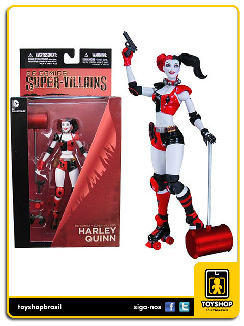 Super-Villains: Harley Quinn - DC Collectibles
