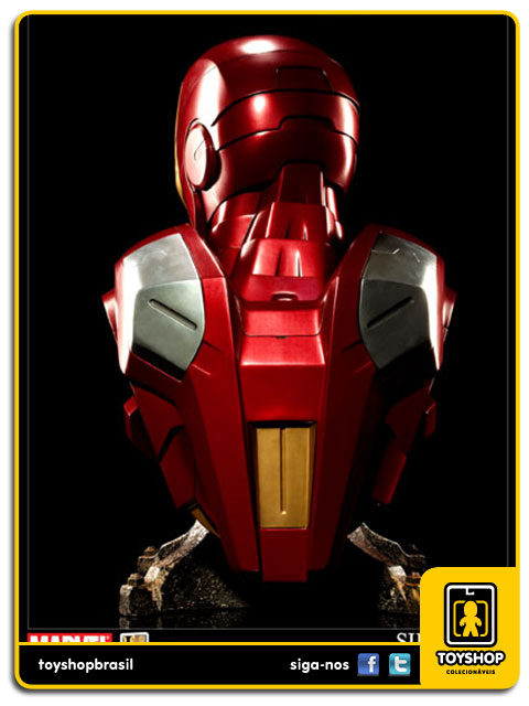 The Avengers: Iron Man Mark VII Life Size Bust - Sideshow