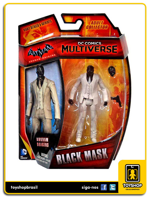 DC Comics Multiverse Arkham Origins: Black Mask - Mattel