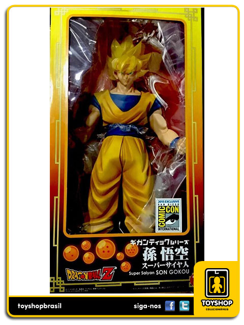 Dragon Ball Z: Super Saiyan Goku 45 cm - Bandai