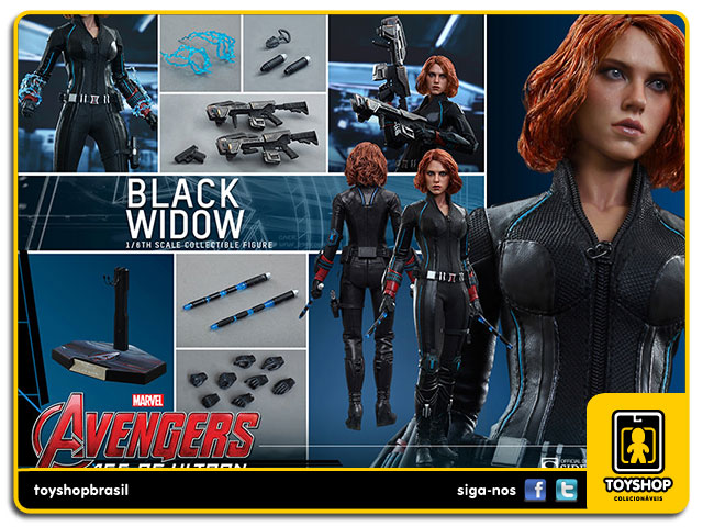 Avengers Age of Ultron: Black Widow - Hot Toys