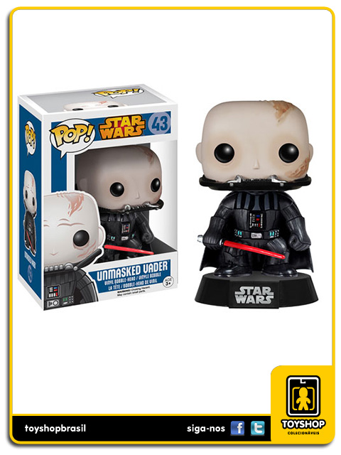 Star Wars: Unmasked Darth Vader Pop - Funko