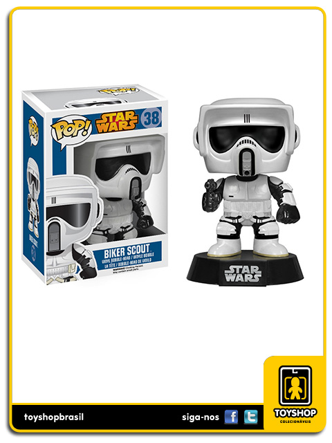 Star Wars: Biker Scout Pop - Funko
