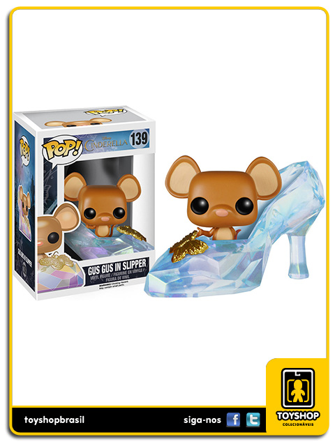 Disney Cinderella: Gus Gus in Slipper Pop - Funko