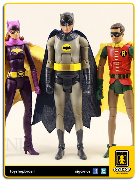 Batman Classic TV Series: Batman, Robin & Batgirl - Mattel