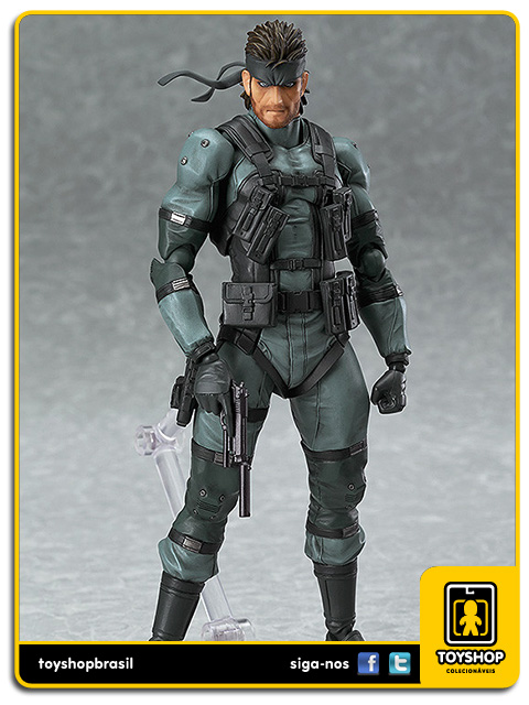 Metal Gear Solid 2: Solid Snake Figma - Good Smile