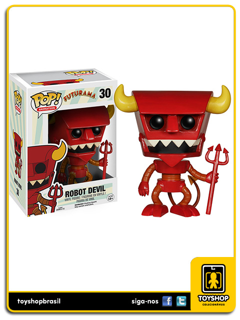 Futurama: Robot Devil Pop - Funko