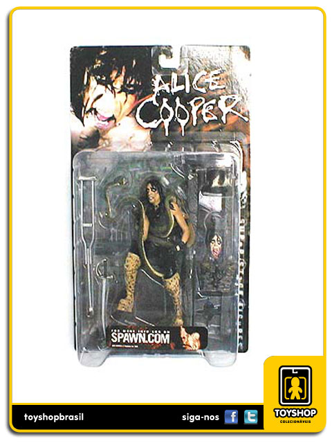 Alice Cooper Super Stage Figures - McFarlane