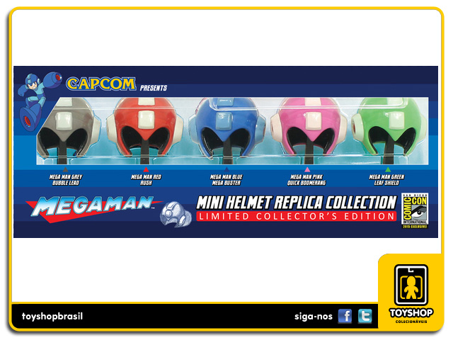 Mega Man: Mini Helmet Collection - Capcom