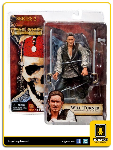Pirates of the Caribbean serie 2 Will Turner  Neca