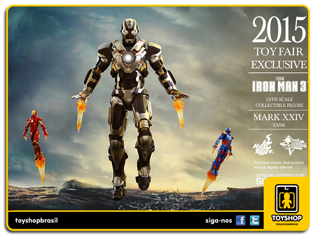 Iron Man 3: Iron Man Mark XXIV Tank - Hot Toys