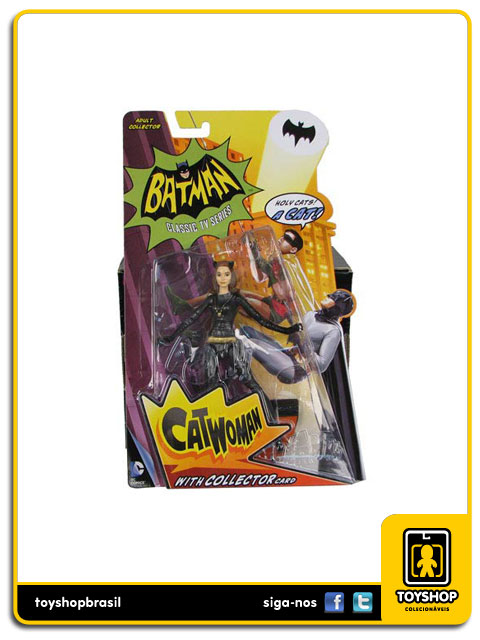 Batman Classic Tv Series: Catwoman - Mattel
