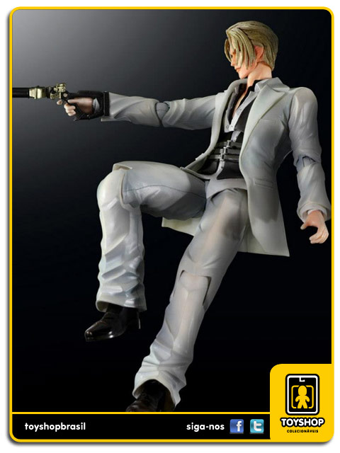 Play Arts Final Fantasy VII Advent Children: Rufus Shinra - Square Enix