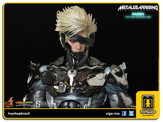 Metal Gear Rising: Revengeance Raiden 1:6 - Hot Toys