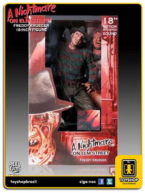 A Nightmare on Elm Street: Freddy Krueger 45 cm - Neca