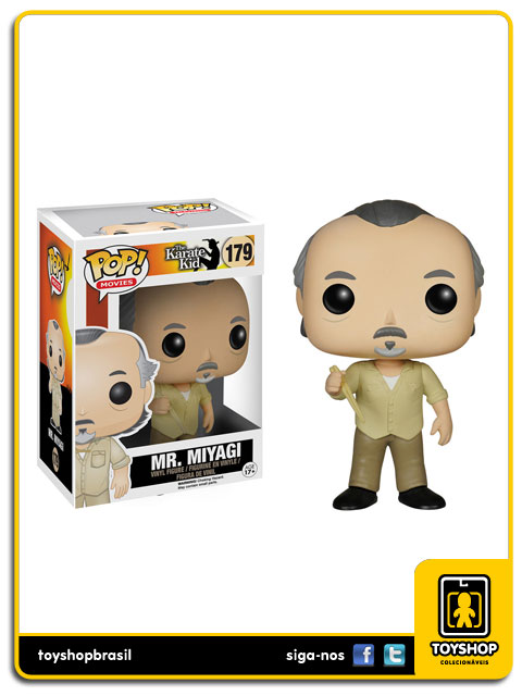 Karate Kid Mr. Miyagi 179 Pop  Funko