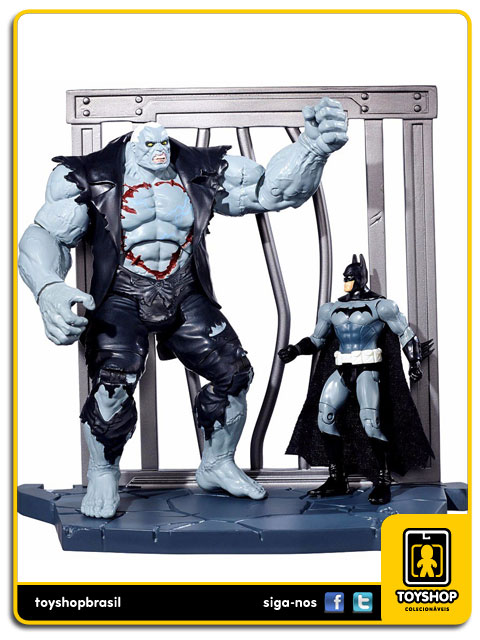 Dc Comics Multiverse: Batman VS Solomon Grundy Arkham City - Mattel