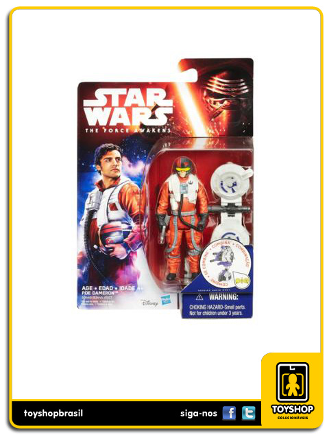 Star Wars The Force Awakens: Poe Dameron - Hasbro