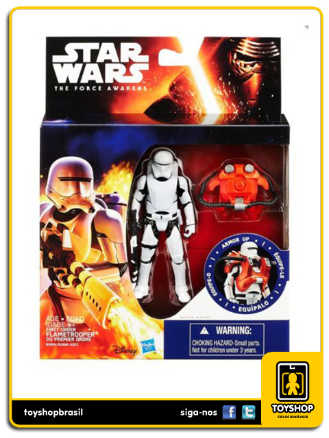 Star Wars The Force Awakens: Flametrooper Armor Up - Hasbro